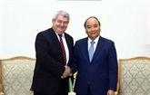 Le Premier ministre Nguyên Xuân Phuc a reçu le vice-président de la République tchèque