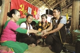 Le mariage traditionnel des Raglai