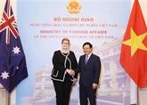 Entretien entre les deux ministres des Affaires étrangères