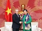 La vice-présidente de l'AN reçoit une délégation parlementaire cubaine
