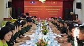 Renforcer la coopération de jeunes officiers vietnamiens et laotiens