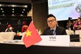 Le Vietnam au VIe Congrès international des agences de presse à Sofia