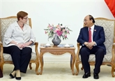 Le Premier ministre vietnamien reçoit la ministre australienne des Affaires étrangères