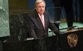 Guterres réaffirme l'engagement de l'ONU à une solution à deux États