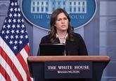 Trump annonce le départ de Sarah Sanders, porte-parole de la Maison Blanche