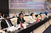 Clôture des sessions de discussion du 6eCongrès international des agences de presse