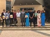 Remise de diplômes à des étudiants vietnamiens en Israël