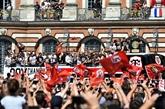 Rugby: Toulouse a fêté le 20e titre de champion de ses héros