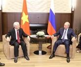 Les relations Vietnam - Russie se développent bien en tous domaines