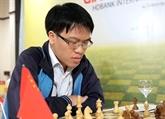 Lê Quang Liêm remporte le titre de champion d'Asie pour la première fois
