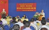 Rencontre députés et électorat dans diverses localités