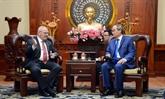 Coopération renforcée entre Hô Chi Minh-Ville et les États-Unis