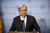 Antonio Guterres souligne le rôle durable des mers et océans