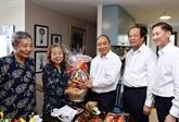 Le Premier ministre rencontre des journalistes vétérans
