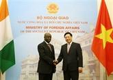 Consolidation des relations Vietnam - Côte d''Ivoire
