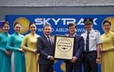 Vietnam Airlines continue d'être une compagnie aérienne 4 étoiles