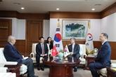Vietnam et R. de Corée promeuvent leur coopération dans laudit