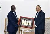 Le Premier ministre reçoit le ministre des Affaires étrangères de Côte d'Ivoire