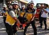 Syrie: 28 morts dans de nouveaux bombardements à Idleb