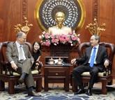 Un dirigeant de Hô Chi Minh-Ville reçoit l'ambassadeur d'Allemagne