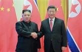 Xi Jinping arrive en RPDC pour une visite d'État