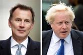 Royaume-Uni: Johnson et Hunt sont les deux derniers candidats pour être Premier ministre