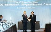 Vietnam - R. de Corée: Dialogue économique au niveau de vice-Premier ministre