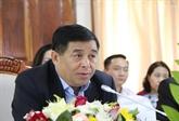 Vietnam - Laos: coopération renforcée entre les ministères du Plan et de l'Investissement