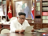 Kim a reçu une lettre
