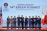 Nguyên Xuân Phuc à la séance plénière du 34e sommet de l'ASEAN
