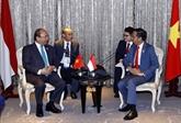 Le Premier ministre Nguyên Xuân Phuc rencontre des dirigeants de l'ASEAN
