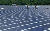 Inauguration de la centrale solaire de Hoa Hôi