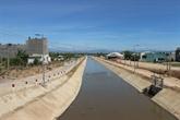 Aide de la Belgique à la consolidation du canal Câu Ngoi