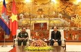 Hanoï et Phnom Penh promeuvent leur coopération