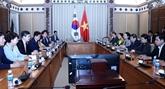 Renforcement des relations entre HCM-Ville et Daegu Gyeongbuk