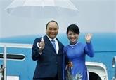 Le Premier ministre Nguyên Xuân Phuc est arrivé à Osaka