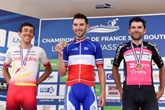 Cyclisme-France: Benjamin Thomas assomme un chrono assommant