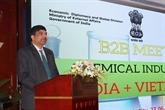 Produits chimiques: renforcer la coopération entre entreprises vietnamienneset indiennes