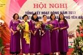 Yên Bai renforce la connexion entre femmes entrepreneurs