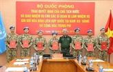 Sept officiers supplémentaires vietnamiens aux opérations de maintien de la paix de l'ONU
