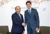 G20: le Premier ministre vietnamien rencontre des dirigeants mondiaux à Osaka