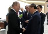G20: le chef du gouvernement vietnamien rencontre des dirigeants étrangers à Osaka