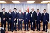 Le Premier ministre vietnamien rencontre des dirigeants de certains groupes japonais