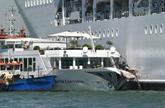 Panique à Venise devant un bateau de croisière géant hors de contrôle