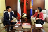 Les relations Vietnam - Italie en plein essor