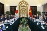Vietnam et Japon renforcent leur partenariat stratégique étendu