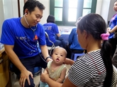Operation Smile rend le sourire à des enfants de Thai Nguyên