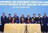 Signature des accords de libre échange et de protection des investissements