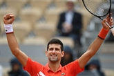 Roland-Garros: Djokovic injouable, Thiem monte en régime