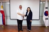 R. de Corée - Philippines: négociations sur l'accord de libre-échange
